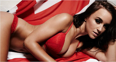 English glamour model Rosie Jones Topless in Loaded Magazine Summer 2012 Issue