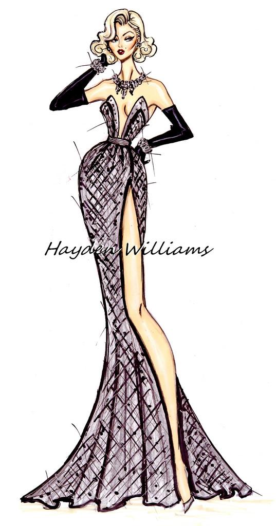 Hayden Williams Fashion Illustrations: August 2012