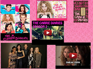 Carrie Diaries Season 2 TV premiere Date