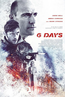 6 Days 2017 DVD R2 PAL Spanish