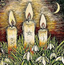 Candles, Pentacles, Moon