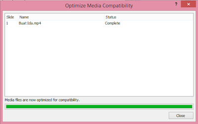 proses optimisasi video