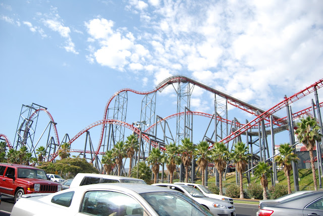 los angeles holiday,tatili six flags magic mountain