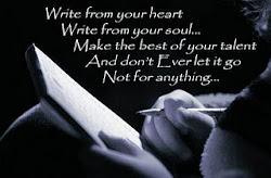 سوف أظل طوال حياتى أكتب..لن يوقفى عن الكتابة إلا الموت