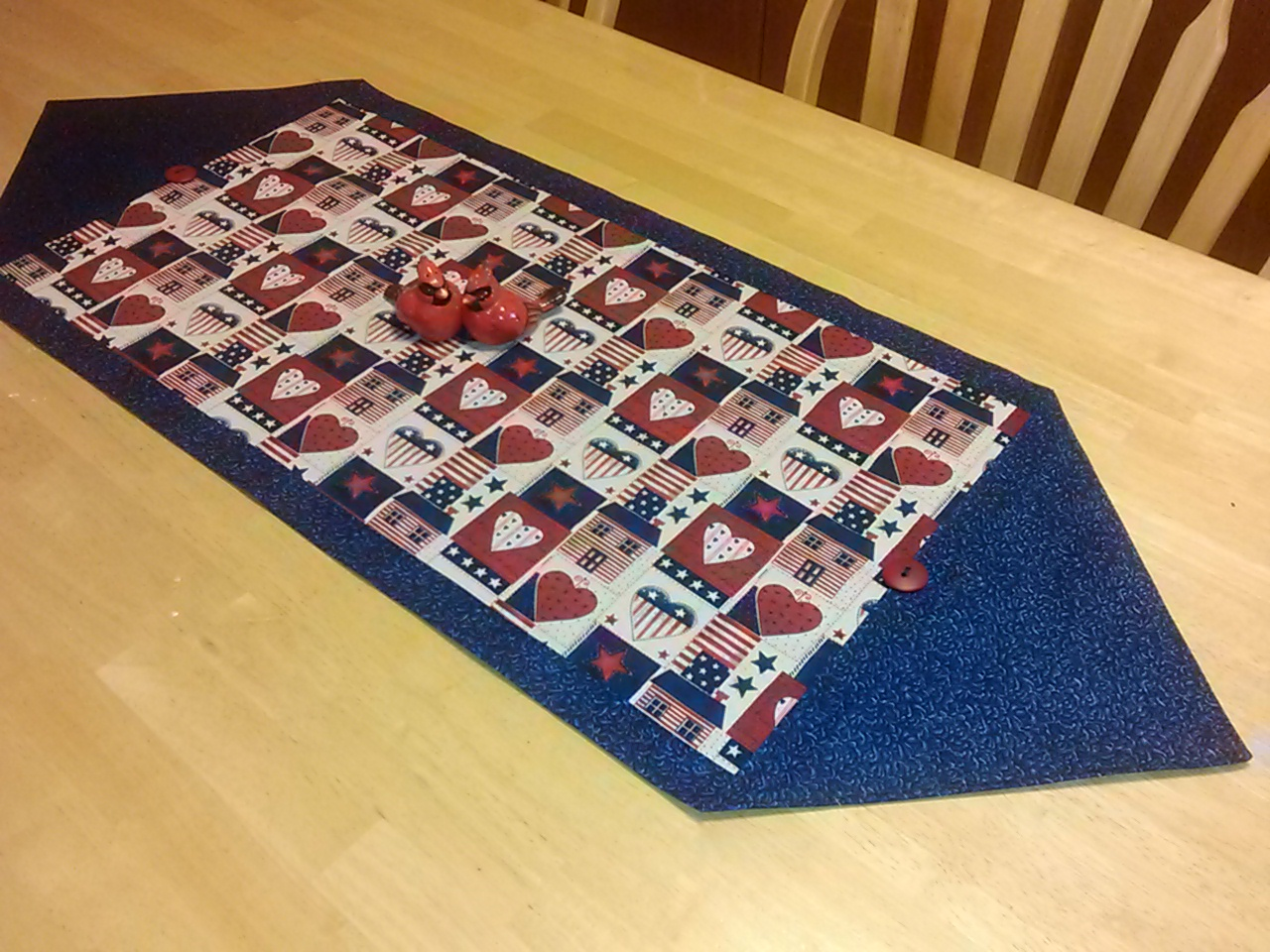 Just one more thing pin it do it 10 minute table runner for 10 min table runner