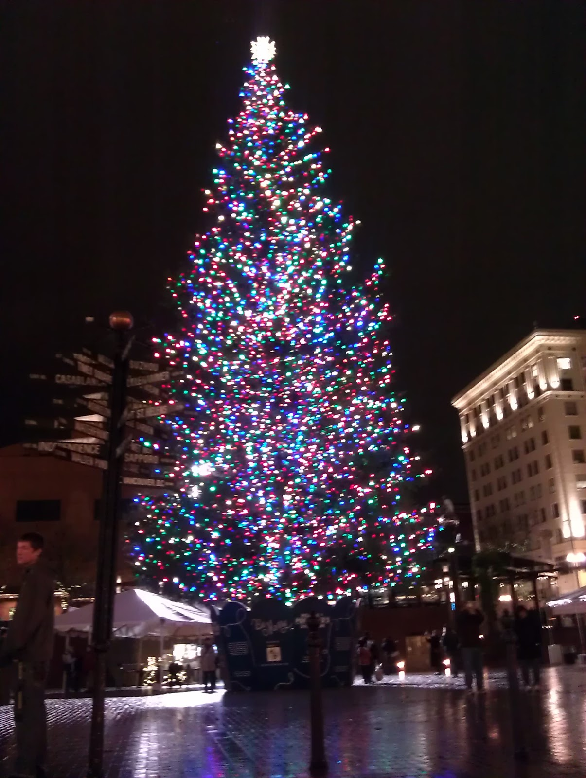 Portlandu0027s Christmas Tree @ Pioneer Square & Stacy and Brianu0027s Adventures in Life: Michael Allen Harrison at ... azcodes.com