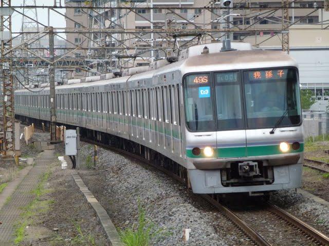 東京メトロ千代田線 我孫子行き3 06系