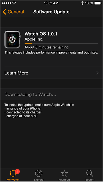 Come aggiornare software Apple Watch