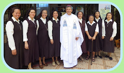 Sr. Loida and Community with Bishop Rey Evangelista, DD