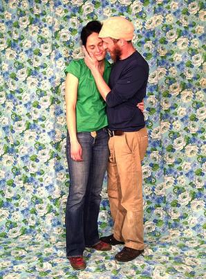 photocall boda flores