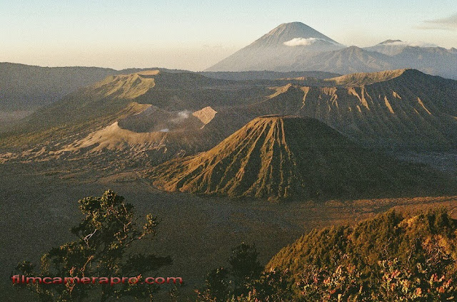 Semeru, Batok, and Bromo