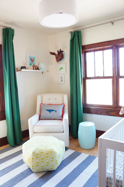 Baby Boy Green Nursery