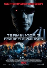 Carátula del DVD Terminator 3