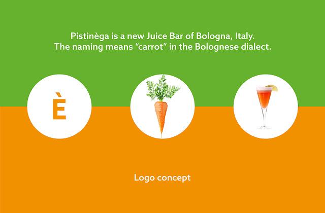 Branding: Pistinèga | Juice Bar by Maurizio Pagnozzi