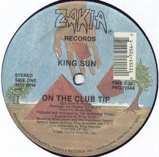 King Sun – On The Club Tip (1989, VLS, 192)