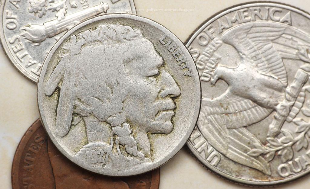 USA coins collection - Koleksi duit syiling Amerika Syarikat
