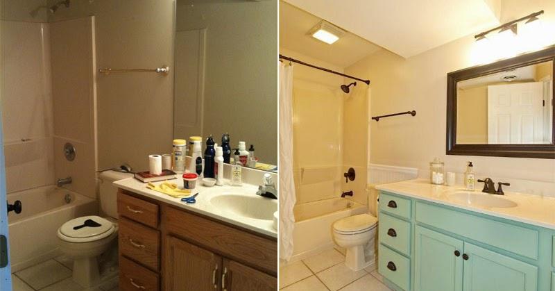 Cheap bathroom makeovers
