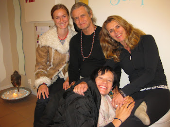 Julia,Mark Withwell,Anette Neumann and me at Tempel Yoga Norway