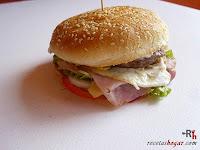 Hamburguesa Juicy Lucy-hamburguesa hecha