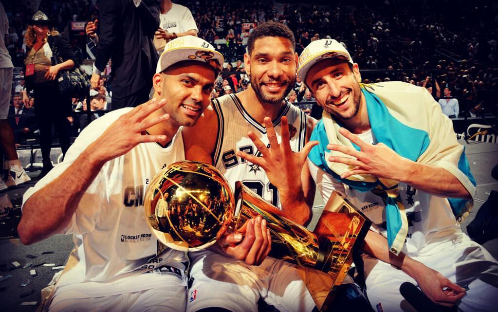 Spurs Big 3 Champions