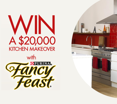 I Love Contests Fancy Feast Win A 20 000 Kitchen Makeover