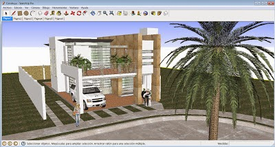 Sketchup This For Your Version 8 This Is A Great Software That Allows You To Make 3d Like Playing With His Tool Push Pull You Ll Have To Drag One