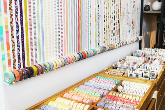 Diy low cost decora tu pared con cinta de washi tape por for Diy decoracion casa