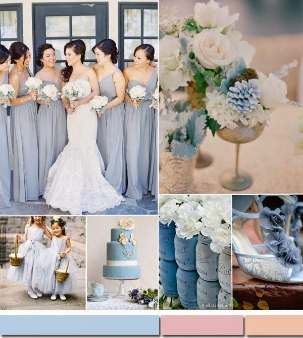 Summer Wedding Color Combos