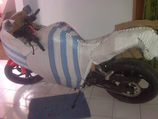 Pengiriman Kawasaki Ninja 250cc Jakarta ke Banjarmasin