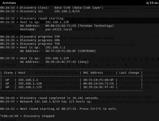 ¿Me están robando el Wifi?, fing ubuntu