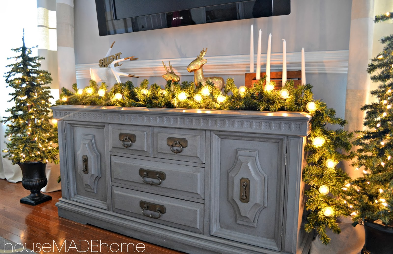 hmh designs a modern glam christmas home tour