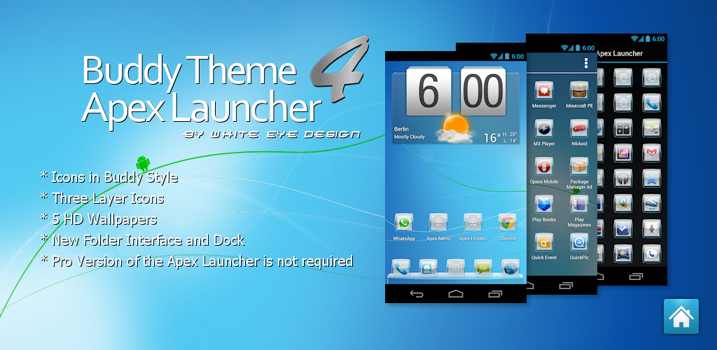 download Apex top 7 best android launcher 2016