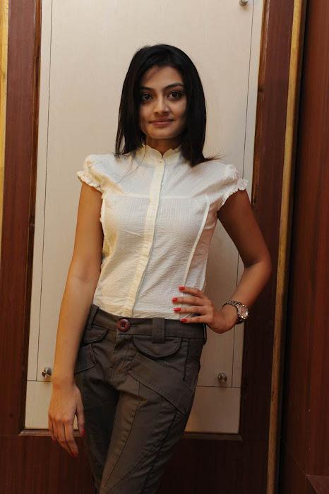 nikitha narayan at its my love story pressmeet, nitkitha narayan unseen pics