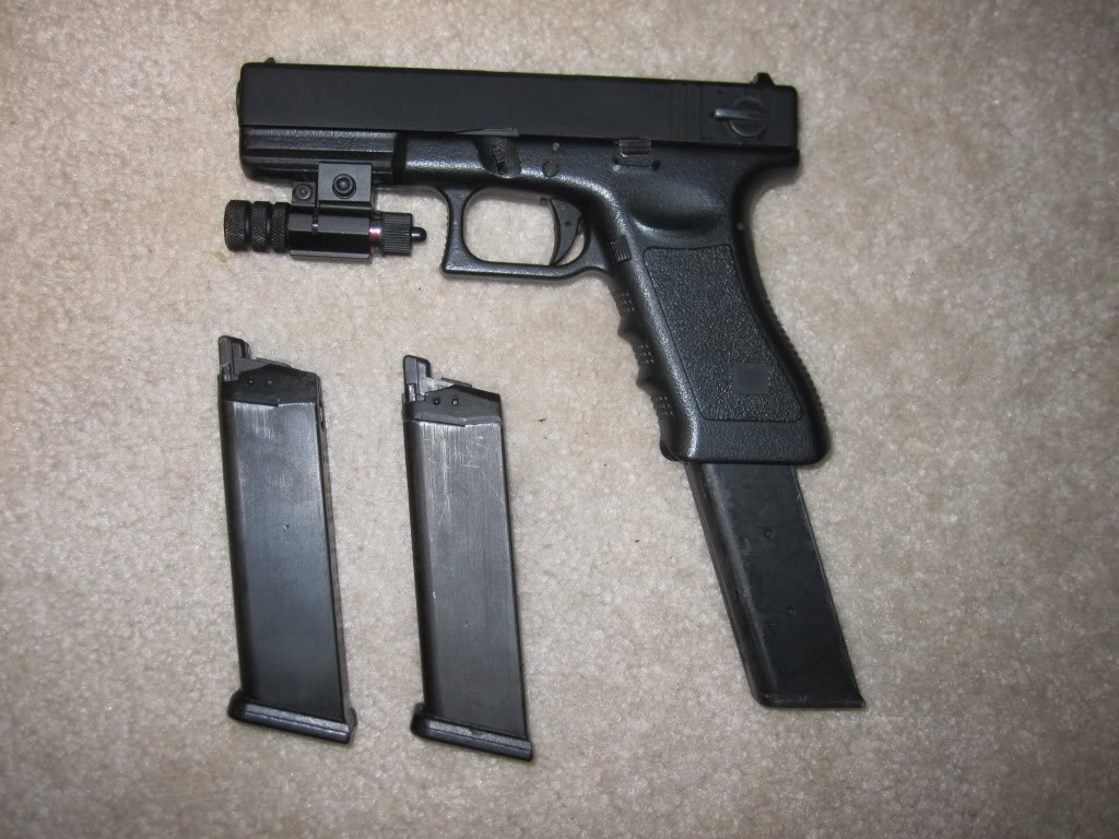 45 Gun Extended Clip   www.imgkid.com - The Image Kid Has It!