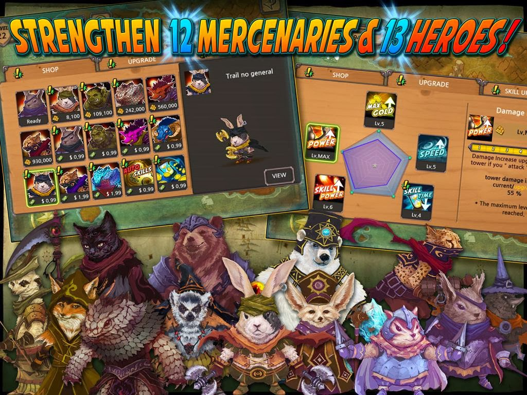 Quest Defense Tower Defense android