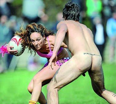 Fotos: se desnud el equipo de rugby femenino de la