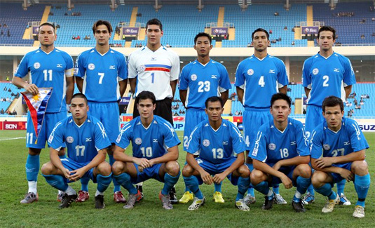 Philippine Azkals first game match on Football Friendly Game 2012