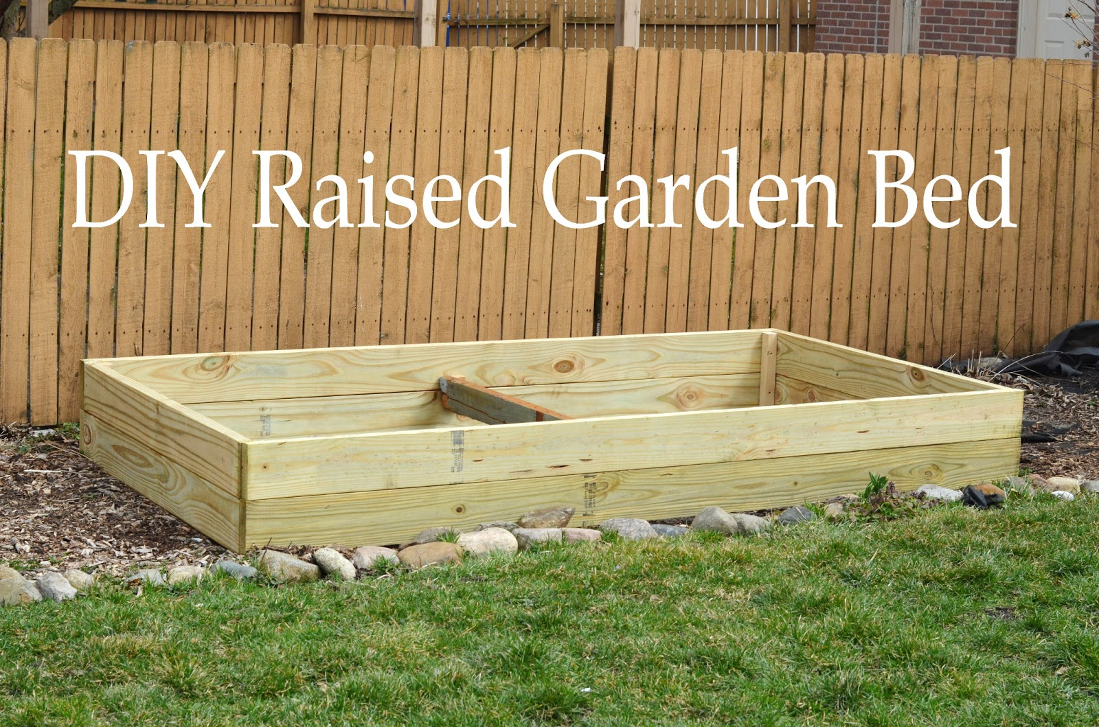 Leading Them To The Rock : DIY Raised Garden Bed 4ft x 8ft on