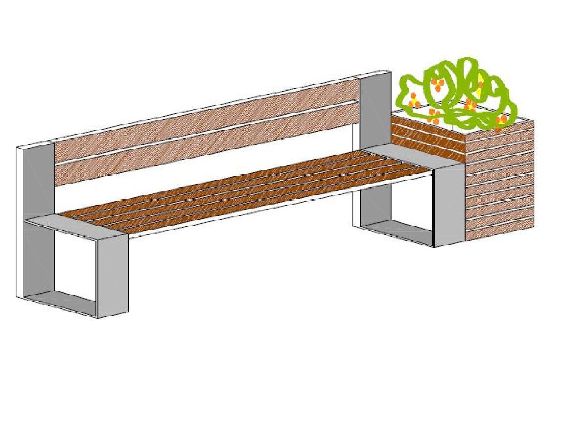mobiliario urbano jardim:Mobiferp – mobiliário urbano: Abrigos, floreiras e bancos de jardim