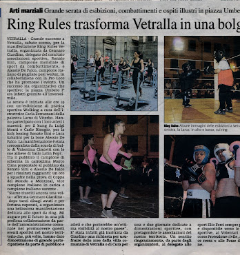SUCCESSO PER IL RING RULES VETRALLA