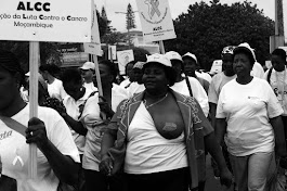 Marchando contra o cancro de mama
