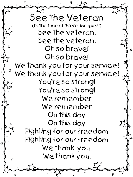 Printable Veterans Day Poems