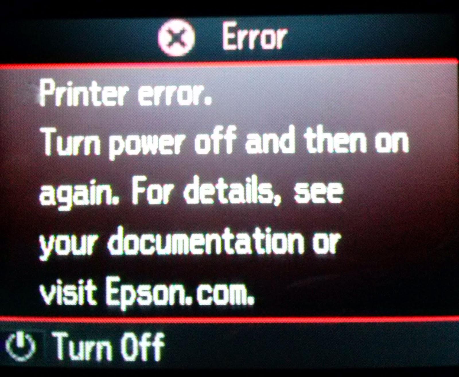 Como Resolver El Error General De Impresora Epson Reset Ilimitados Printer L310 L 310