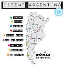 REUNIMOS DISEÑO DE DIFERENTES PUNTOS DE ARGENTINA.