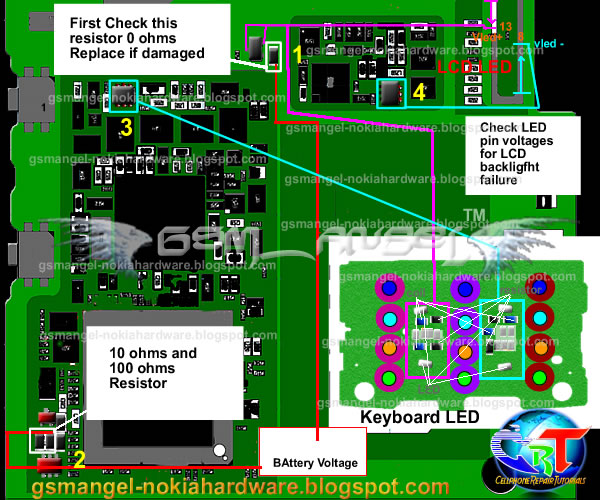 nokia x3 display lights problem solution tested