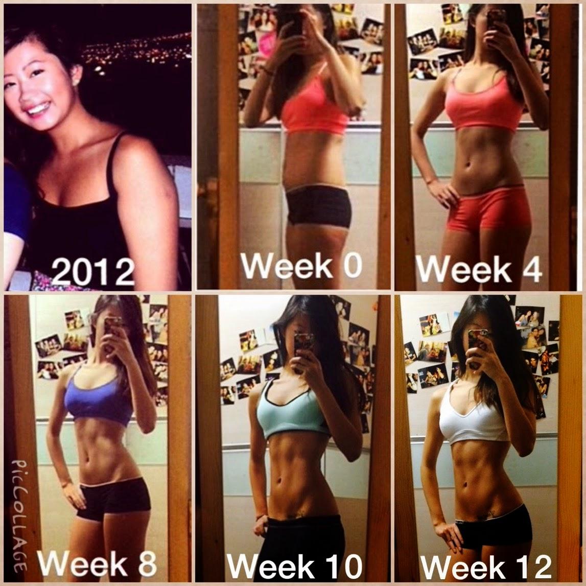 Fitness Journey Transformation Progress Photo