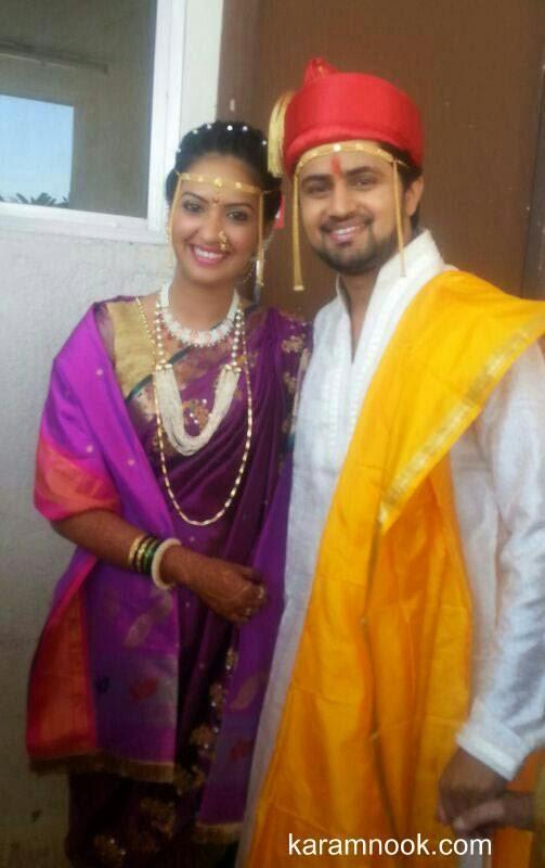 Tejashri Pradhan -Shashank Ketkar Marriage Photos