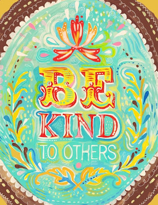 be kind to others - the wheatfield etsy shop - miss prissy paige