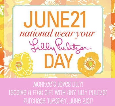 """Lilly Pulitzer: Gifts with Purchase. My Cardigan, Leggings, Velvet Tank, and Sandals & Emma's Leggings and Poncho c/o Lilly Pulitzer / Emma's Bow. Emma and I are teaming up with Lilly Pulitzer to celebrate Lilly's birthday and announce a """"free gifts with purchase."""