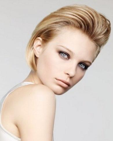 Sleek Short Hair Style 2014